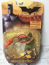 2005 Batman Begins Skull Strike Scarecrow Action Figure Mattel H3757 New in Box