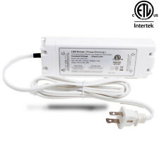 Ledupdates 12v 50w Triac Dimmable Power Supply Led Driver Ac To Dc Etl Listed