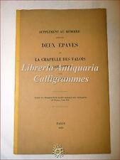 Louis Courajod, DEUX EPAVES DE LA CHAPELLE DES VALOIS A SAINT-DENIS 1881 tavola
