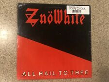 Znowhite All Hail To Thee LP Record Original Factory Sealed