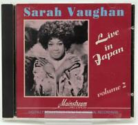 Sarah Vaughan - Live in Japan Volume | 2 CD