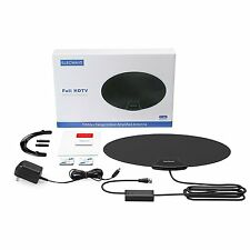 NEW 70 Mile Range Flat Wave DIGITAL INDOOR TV ANTENNA HDTV DTV HD VHF/UHF USA