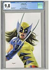 X-Men #10 CGC 9.8 Mike Mayhew Virgin Variant Cover Frankies Comics X-23 Edition