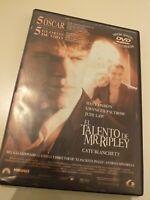 Dvd  EL TALENTO DE Mr RIPLEY  CON MATT DAMON