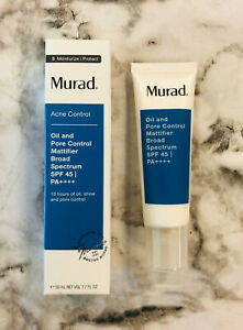New Muard Acne Control Oil Pore Control Mattifier Broad Spectrum SPF 45 PA ++++
