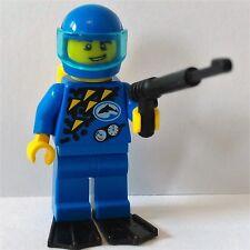 Lego - City - Aquazone Extreme Team Rescue Diver Control Explorer Minifigure #3