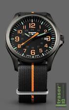 traser H3 Men's Watch P67 Officer Pro Gun Metal Black/orange 107425