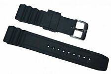 Italian Rubber Strap for Luminox 22mm Colormark 3000 3100 8400 8800 Navy Seal