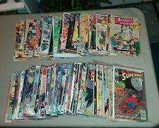superman 150+ silver bronze modern age comics lot run set movie collection