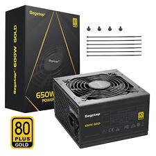 650W Non Modular Computer Power Supply GP Series 80 Plus Gold Certified PSU