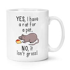 Oui I Ont Une Rat Pour Animal Non It Isn't Grand 284ml Tasse - Drôle