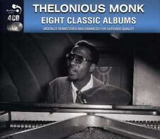 THELONIOUS MONK - 8 Classic Albums (4 CD) NEW & SEALED from UK