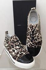 MARC By MARC JACOBS Animal Black Leopard Print Calf Hair Sneaker Shoe 6 (36) NEW