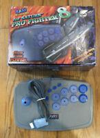 Naki Pro Fighter 8 For Sega Saturn - Mint Condition - IOB - Rare
