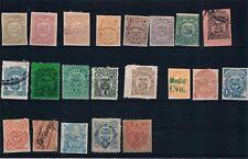 Colombia. Conjunto de 21 sellos de Estados Colombianos
