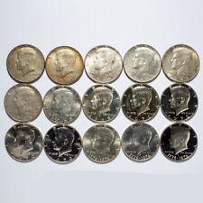 40% Silver Half Dollars Kennedy 15 Coin Lot
