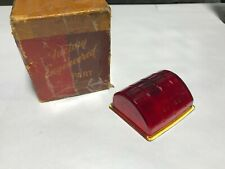1942 DESOTO S-10 NOS MOPAR GLASS LEFT TAIL LAMP LENS 42  -  973243