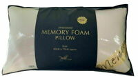 Visco Elastic Shredded Memory Foam Orthopaedic Bed Pillow in Bag Removable Cover
