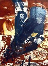 Bella grande farbradierung/Memory/pop Art/ACQUAFORTE, FIRMATO A MANO/1975