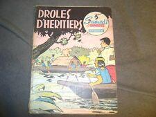 SAMEDI JEUNESSE  DROLES D'HERITIERS N° 59 EO 1962