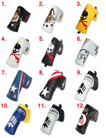 Golf Headcovers Putter Headcover Magnetic Blade Club Protector - Craftsman Golf