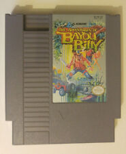 The Adventures of Bayou Billy (Nintendo NES) Video Game