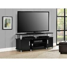 Center Media TV Stand Cabinet Console Table Storage Modern Entertainment Flat