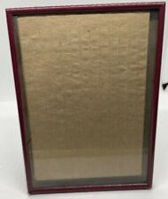 5x7 Vintage Maroon Picture Frame