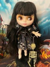 Blythe Doll , Goth Blythe comes with all accessories including stand Neo Blythe.
