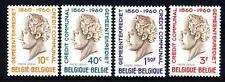 BELGIUM - BELGIO - 1960 - Centenario del credito comunale H.Frere - Orban, stati