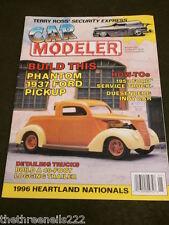CAR MODELER - PHANTOM 1937 FORD PICK-UP - JAN 1997