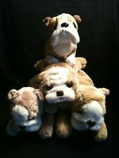 PLUSH BULLDOG BULLDOGS YOMIKO CLASSICS APPLAUSE TY WEBKINZ