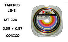 FILO SURFCASTING FLY TAPERED CONICO MT 220 mm 0,35 - 0,57