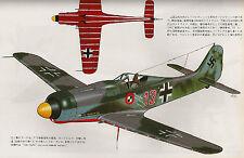 FOCKE WULF Fw 190D & Ta 152 MODELING GUIDE Superb Vintage Model Art 577