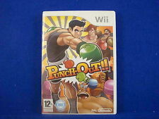 *wii PUNCH OUT (NI) Game Boxing LITTLE MAC From Super Smash Bros Wii U PAL UK