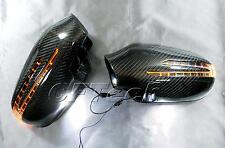 Fits Mercedes R129 SL-Class 98~01 Carbon Fiber Arrow Type LED Side Mirror Cover