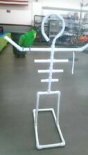 NEW PVC Parrot Man FLOOR PERCH  STAND  **FREE SHIPPING!**
