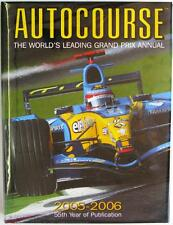 AUTOCOURSE 2005-2006 FERNANDO ALONSO RENAULT RACING BOOK ISBN:1905334044