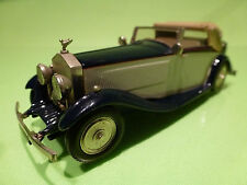 WESTERN MODELS ROLLS ROYCE PHANTOM II - BLUE CREAM 1:43 - VERY GOOD