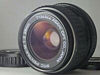 """""""""""Excellent"""""""" SMC Pentax-M 28mm f/2 f 2 Wide Angle MF Lens Japan JP PK Mount SLR"""