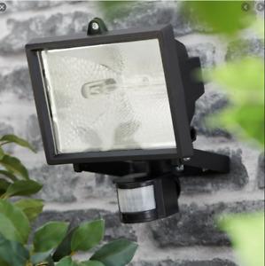500W Sensor Light Floodlight Security Outdoor Garden Halogen PIR Motion Sensor