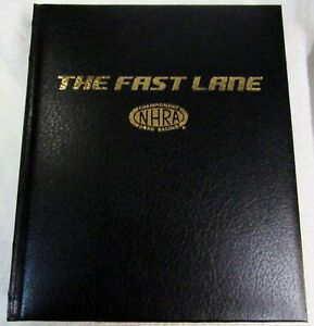 NHRA 50th Anniversary The Fast Lane History of NHRA Signed Coffee Table Book