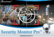 Security Monitor Pro Professional Video Surveillance Software  4 Cameras CCTV