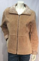 Guess Womens Leather Jacket Size M Medium