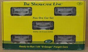 S-Helper Service 00744 Union Pacific 5-Car Ore Car Set S-Gauge/Scale LNIB