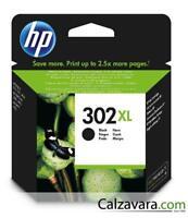 HP CARTUCCIA ORIGINALE NERO 302 XL