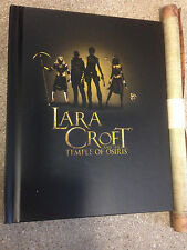 * TOMB RAIDER - LARA CROFT AND THE TEMPLE OF OSIRIS - ARTBOOK & MAP - NEW