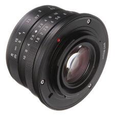 25mm F/1.8 Manual Focus Prime Lens for M4/3 Camera GH5 GX8 GF6 G7 GM5 E-M1/5/10