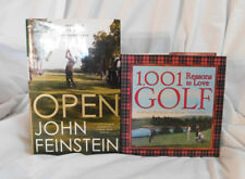 Golf Book Lot 2: US Open Feinstein & 1001 Reasons to Love Golf Pendroli VG HC