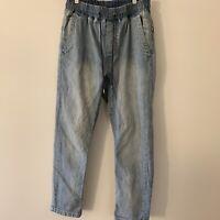 GLOBE Australia Men's Casual Drawstring Jeans Size 32